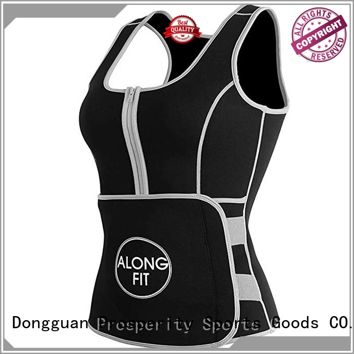 Prosperity compression sport protect vest suit for weightlifting