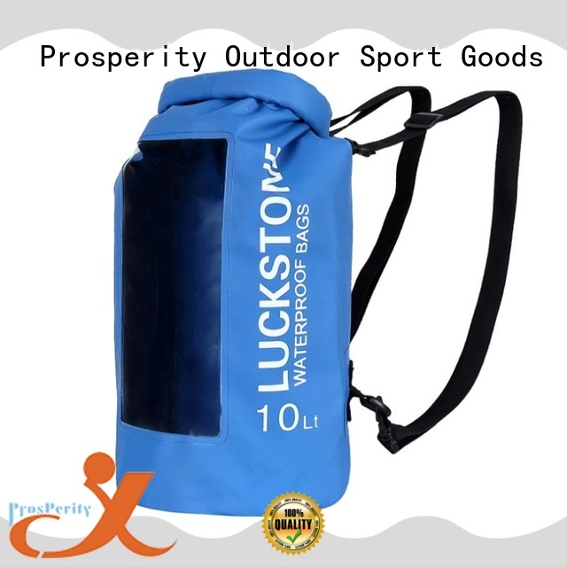 light go outdoors dry bag with innovative transparent window design for rafting