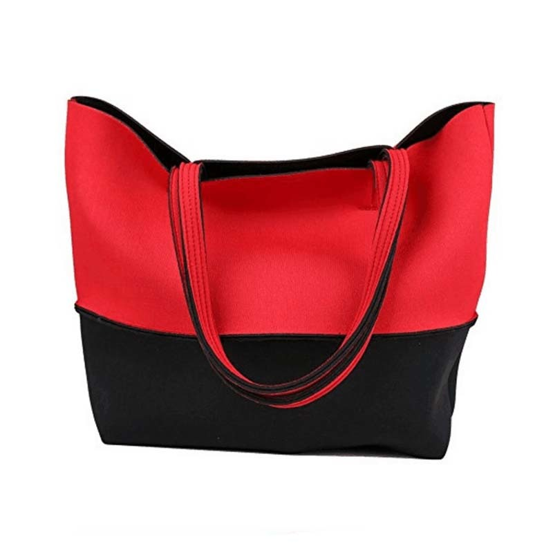 Fashion neoprene beach  tote bags  for travel and hiking