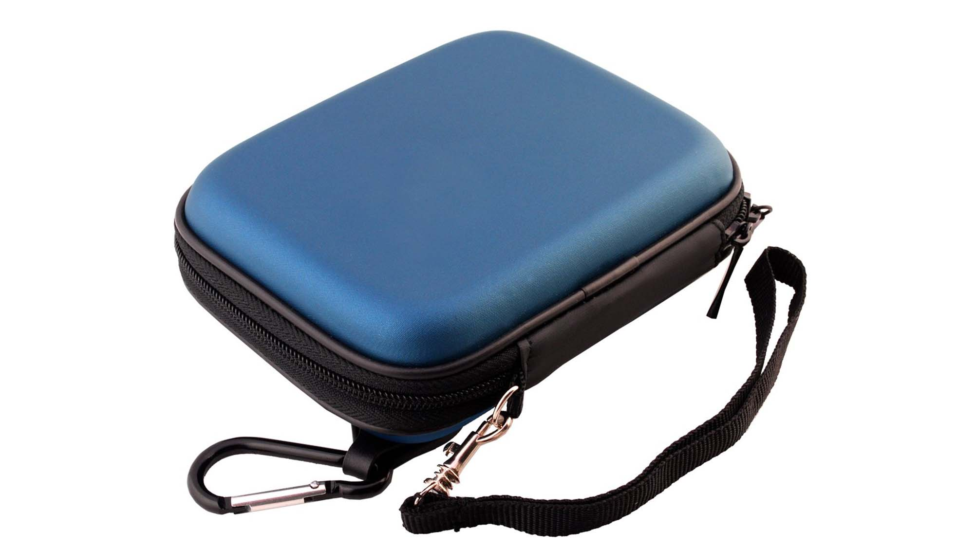 Pu leather eva shockproof carrying case for hard drive-5