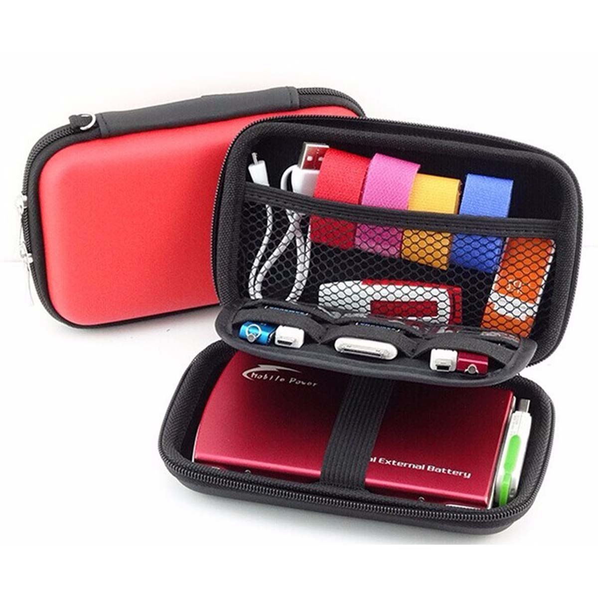 deluxe eva zip case pencil box for pens