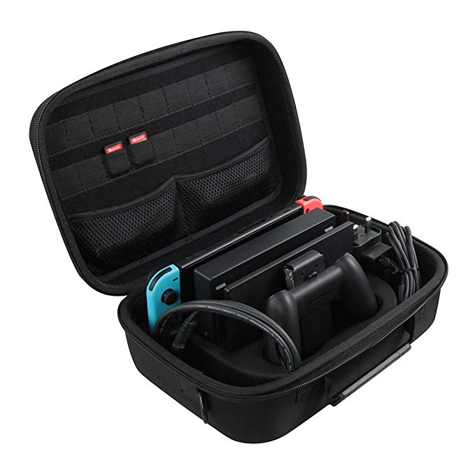 deluxe eva travel case fits for gopro camera-6