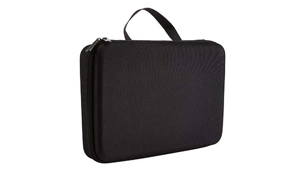 Large eva carrying   case for  2 gopro camera-4