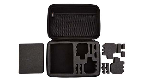 Prosperity black EVA case disk carrying case for gopro camera-5