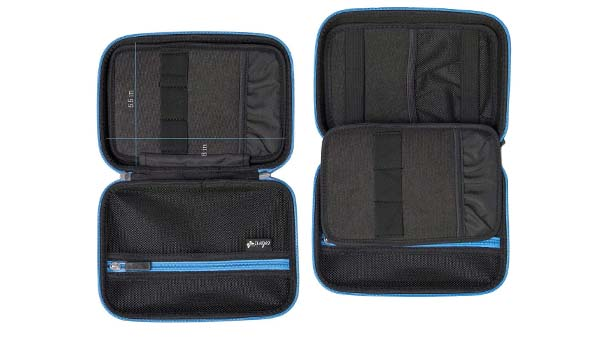 Prosperity eva zip case disk carrying case for gopro camera-5