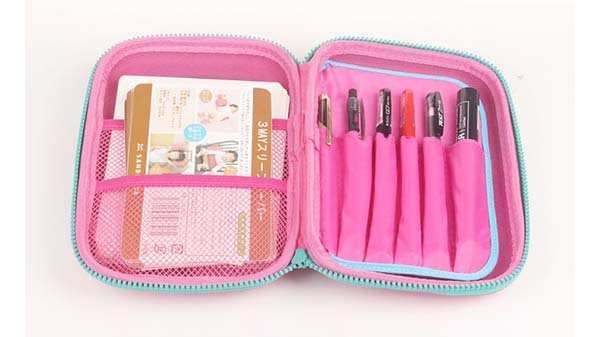 deluxe eva foam case glasses travel case for brushes-7