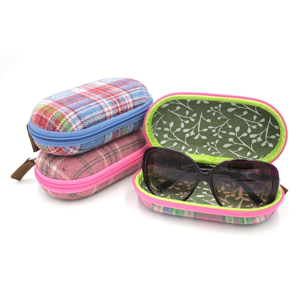 Prosperity black hard eva case glasses travel case for gopro camera
