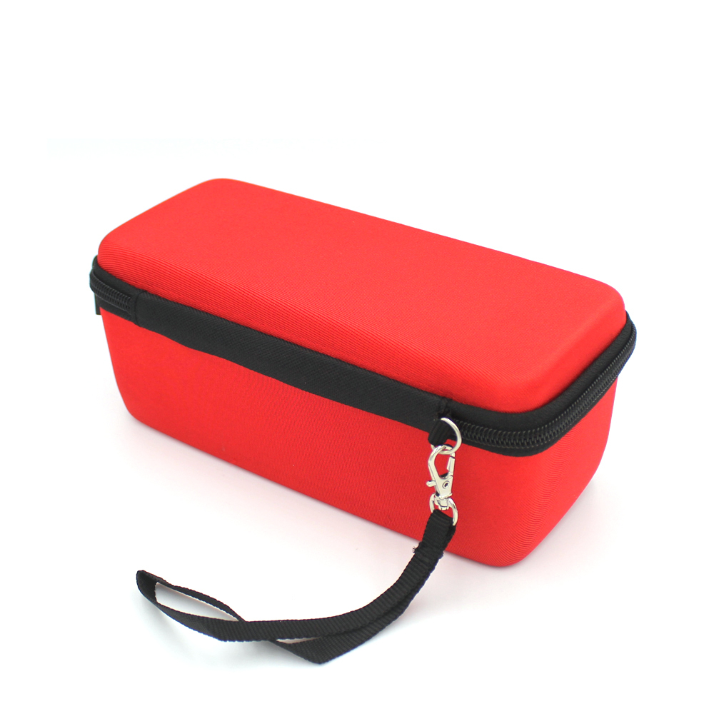 Portable eva hard shockproof speaker case  with strap