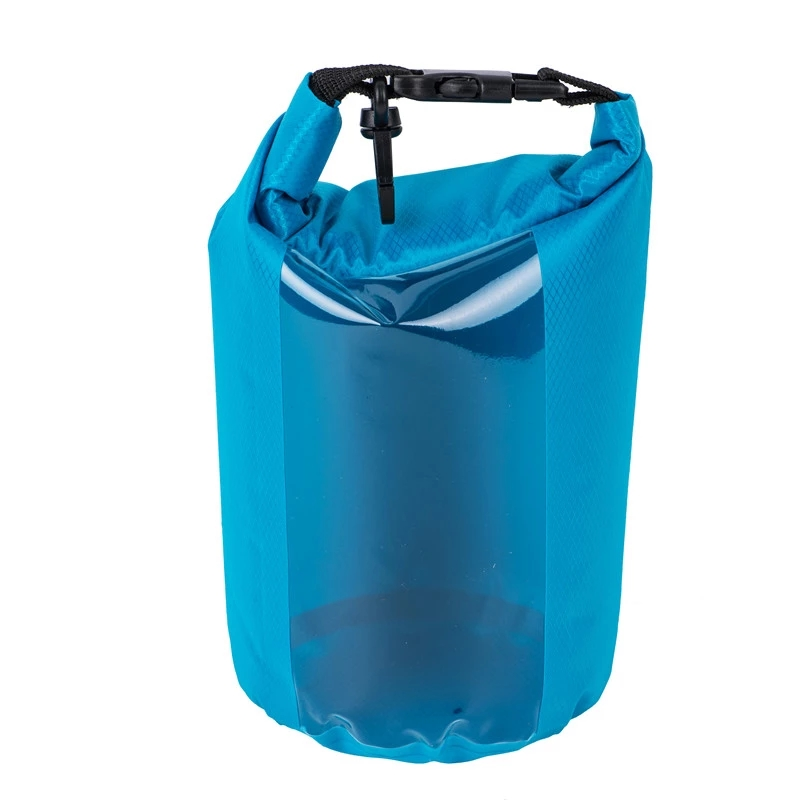 polyester dry bag with adjustable shoulder strap for boating-5