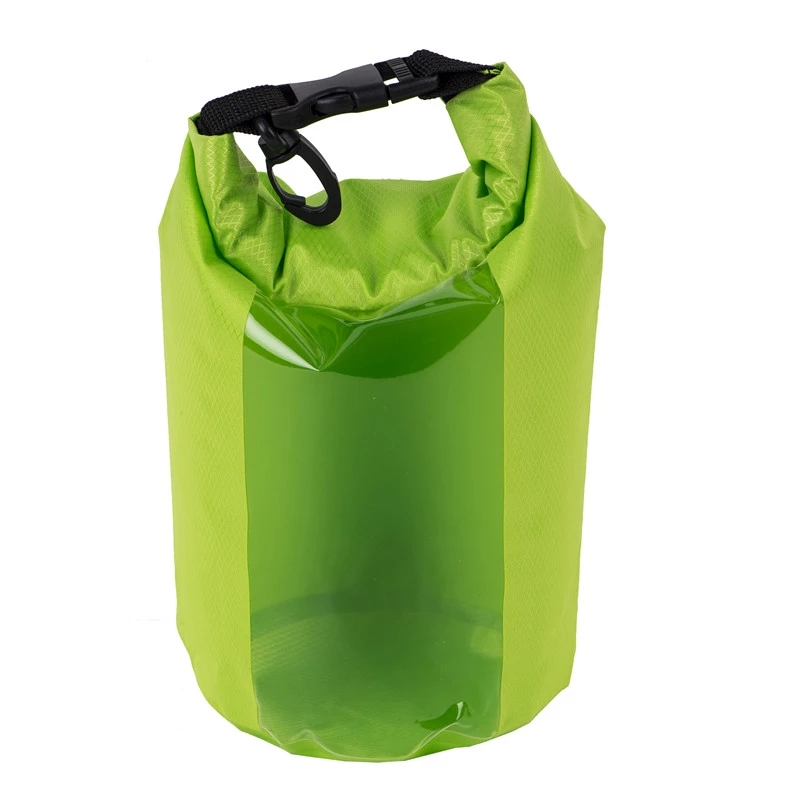 Prosperity light Waterproof dry bag with innovative transparent window design for rafting-4