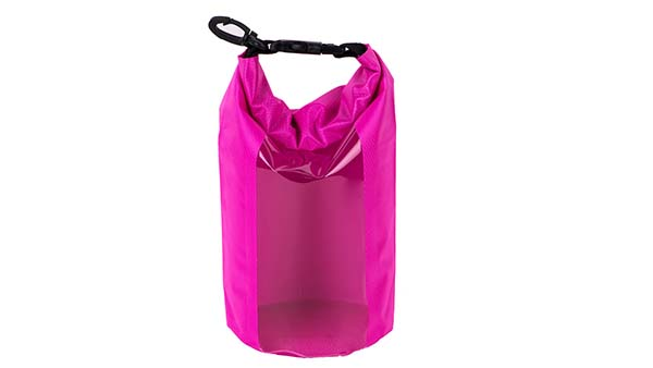 Prosperity light drybag with adjustable shoulder strap open water swim buoy flotation device-9