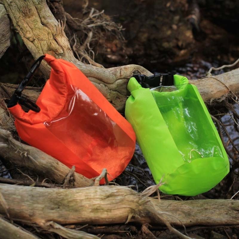 Prosperity light Waterproof dry bag with innovative transparent window design for rafting-13