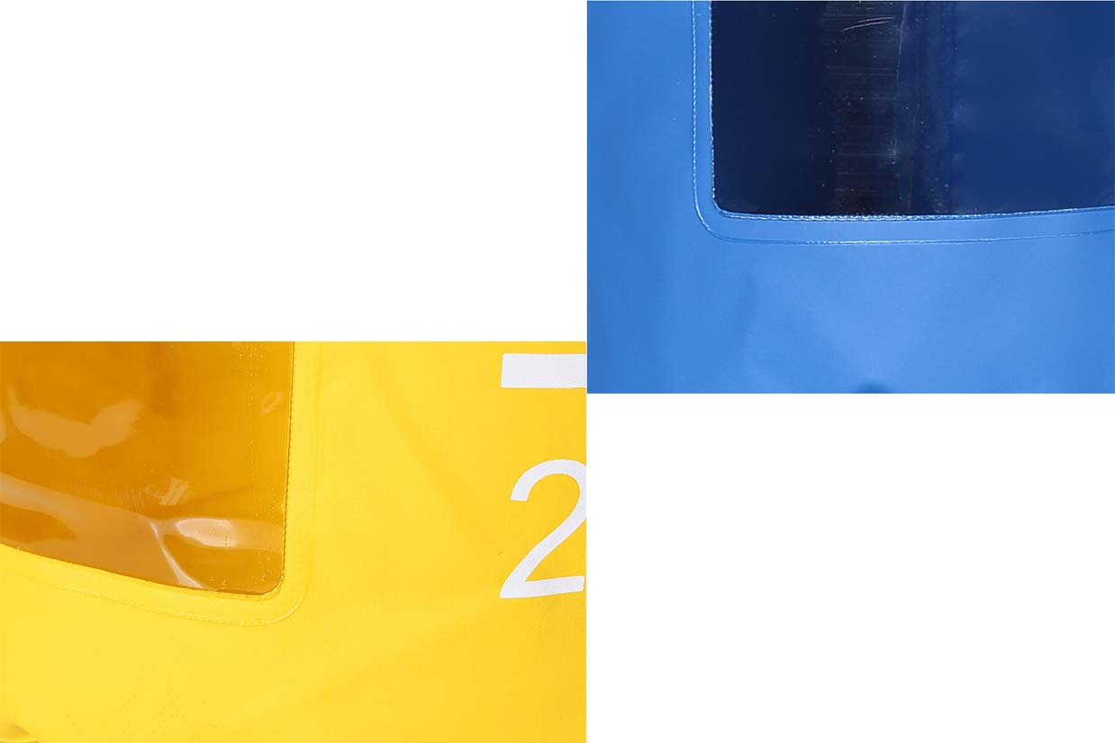 Floating waterproof dry bag with  innovative transparent window design-5