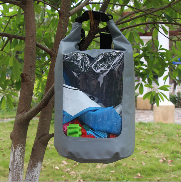 Floating waterproof dry bag with  innovative transparent window design-7