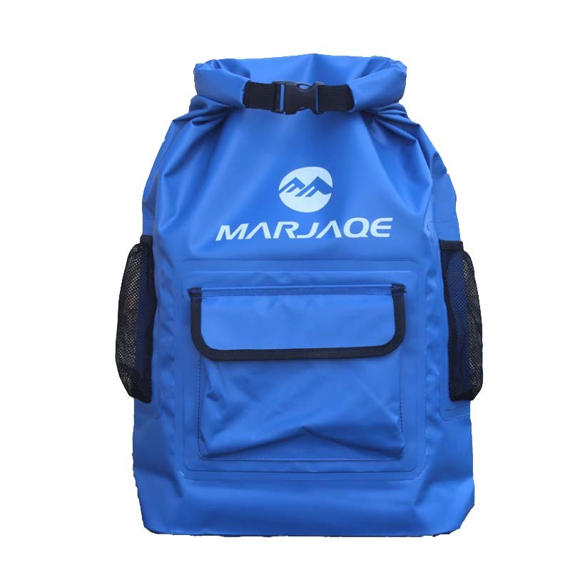 sport dry pack bag with adjustable shoulder strap for rafting