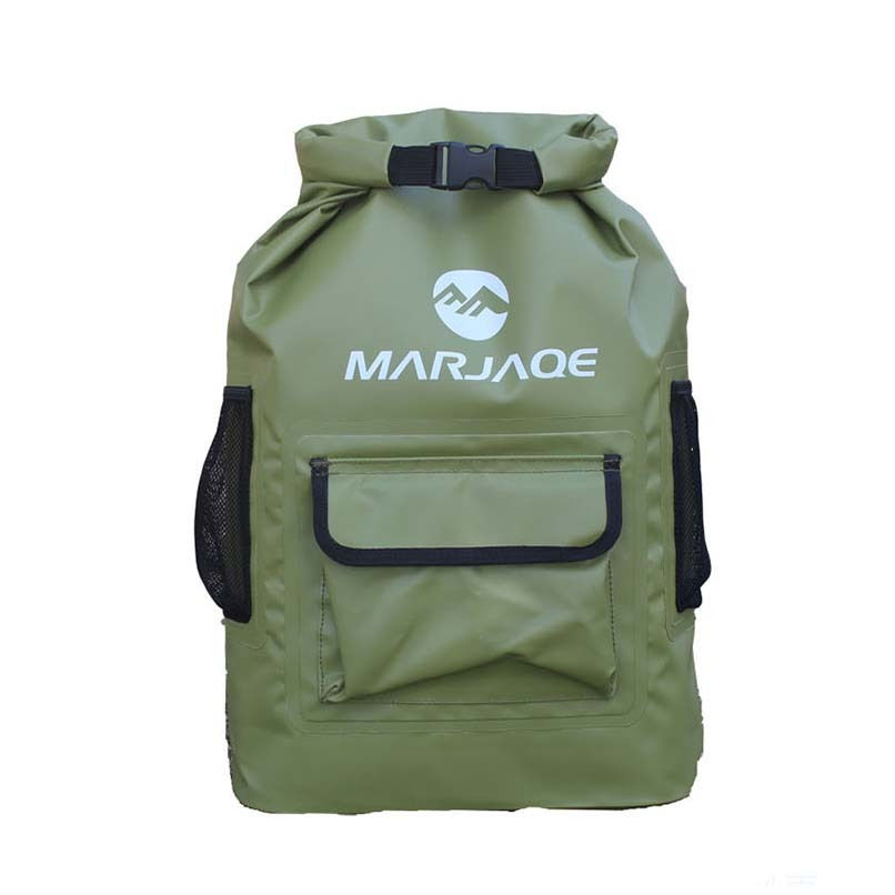 sport dry bag sizes with adjustable shoulder strap for fishing