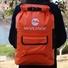 heavy duty dry bag with innovative transparent window design open water swim buoy flotation device