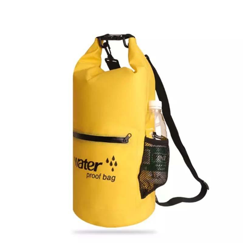 Outdoor waterproof sport dry bag with  shoulder strap