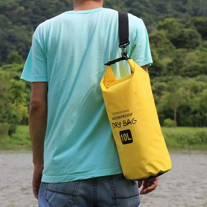 Prosperity floating dry bag sizes with adjustable shoulder strap for kayaking-10