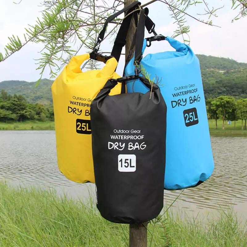 Prosperity floating dry bag sizes with adjustable shoulder strap for kayaking-11