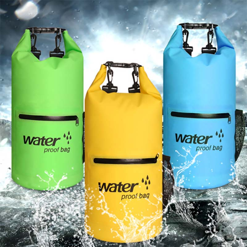 Prosperity floating dry bag sizes with adjustable shoulder strap for kayaking-12