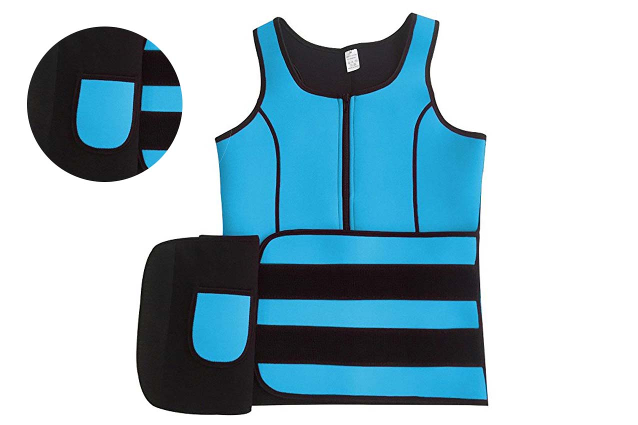 removable support sport vest suit for cross training-7