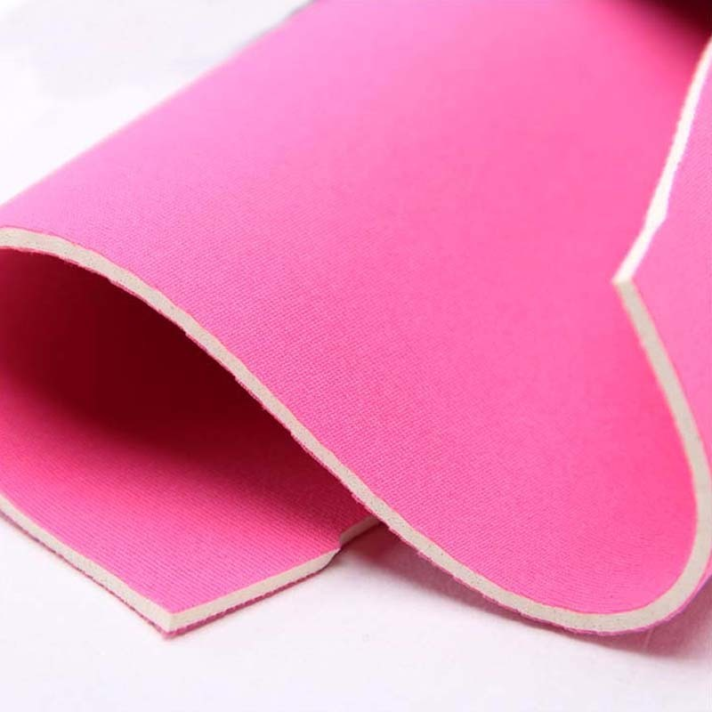 Breathable waterproof   neoprene fabric sponge  rubber sheet