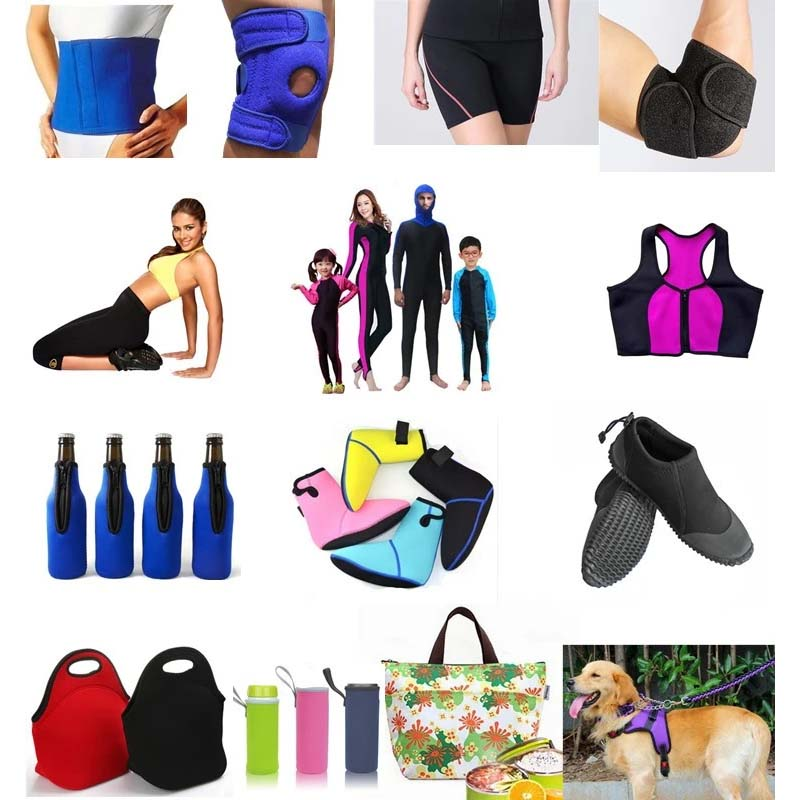 breathable neoprene fabric sheets manufacturer for knee support-8