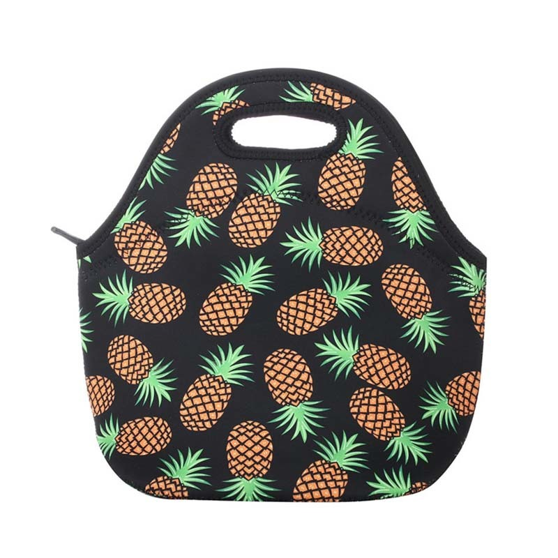 Customized color factory price new style neoprene cooler lunch bag