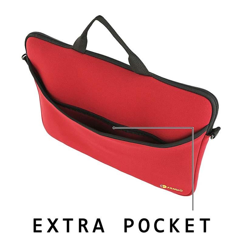 Computer neoprene sleeve carrying case bag with handle