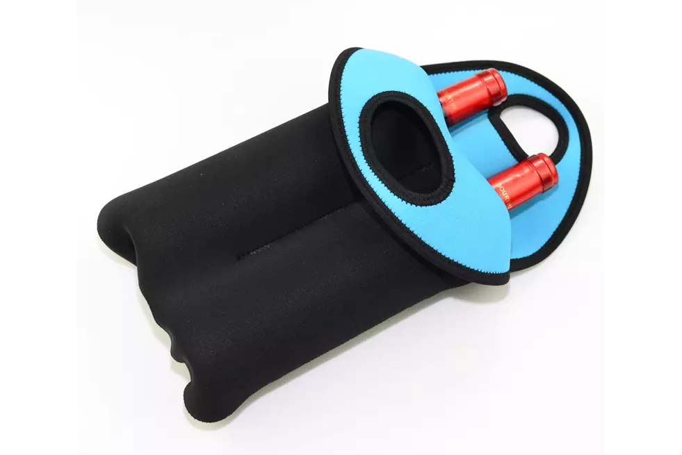 color custom neoprene bags with accessories pocket for travel-7