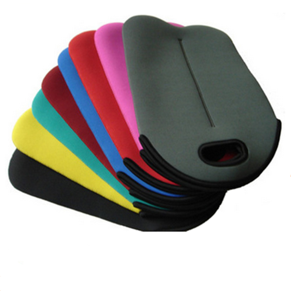 color custom neoprene bags with accessories pocket for travel