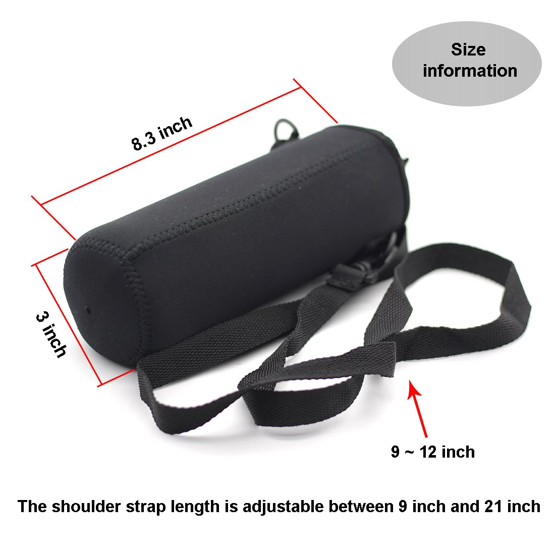 Prosperity large wholesale neoprene bags carrying case for sale-4