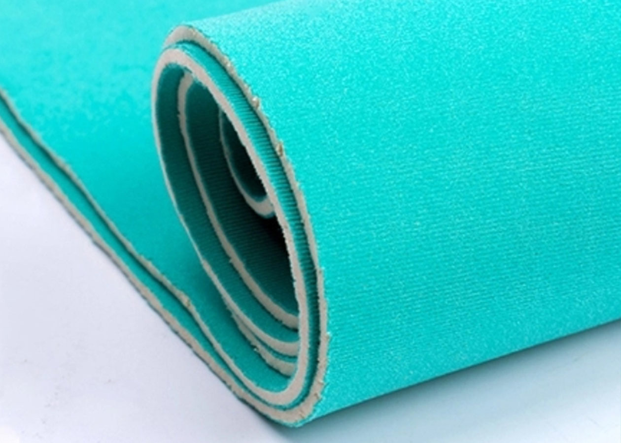 loopNeoprene fabric sponge rubber sheet for bags
