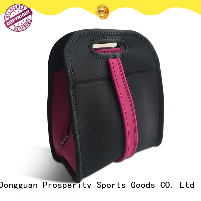 Prosperity small neoprene bag water bottle holder for travel