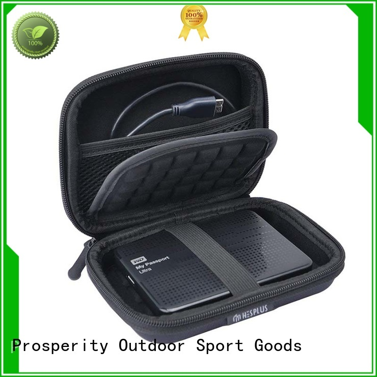 Prosperity eva carrying case with strap for hard drive