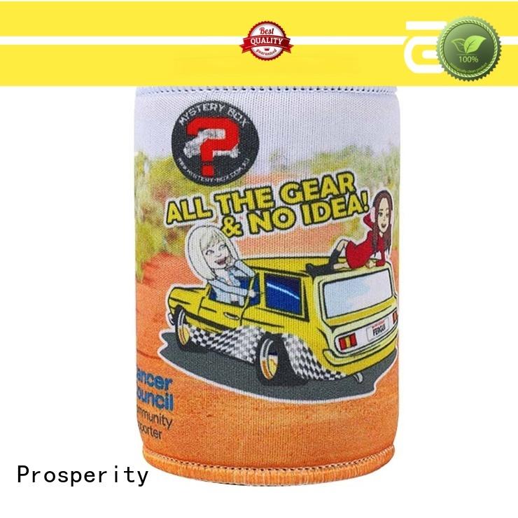 Prosperity large custom neoprene bags water bottle holder for travel