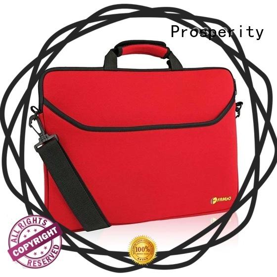 Prosperity protected neoprene travel bag carrying case for travel