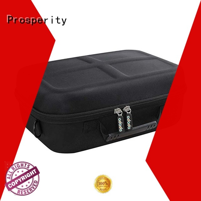 Prosperity shockproof eva foam case disk carrying case for brushes
