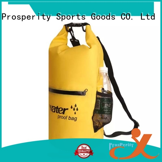 Prosperity drybag with adjustable shoulder strap for kayaking
