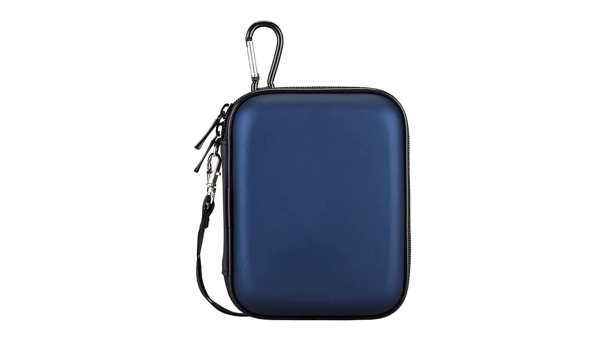 Pu leather eva shockproof carrying case for hard drive-3