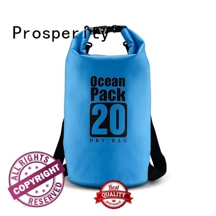 light Waterproof dry bag with adjustable shoulder strap for kayaking