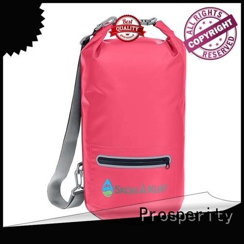 Prosperity light dry bag with adjustable shoulder strap for kayaking
