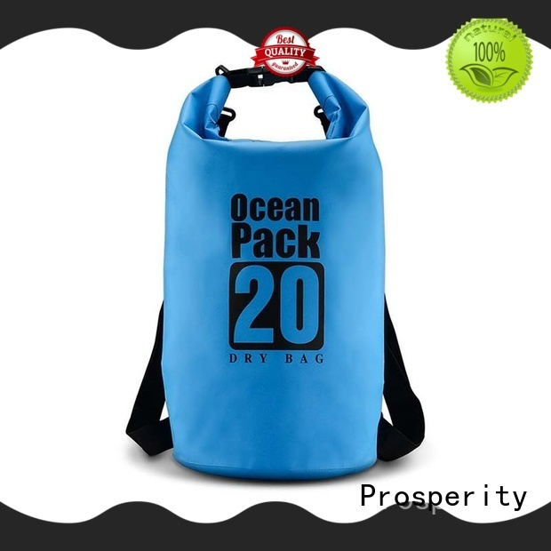 Prosperity Waterproof dry bag with innovative transparent window design for fishing