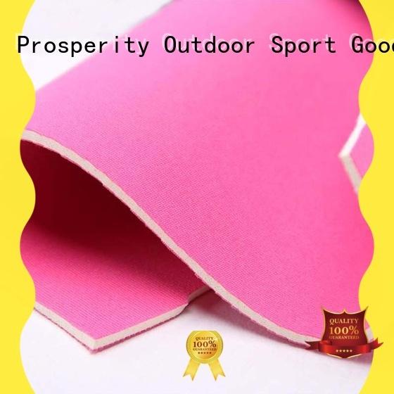 Prosperity elastic Neoprene fabric supplier for bags