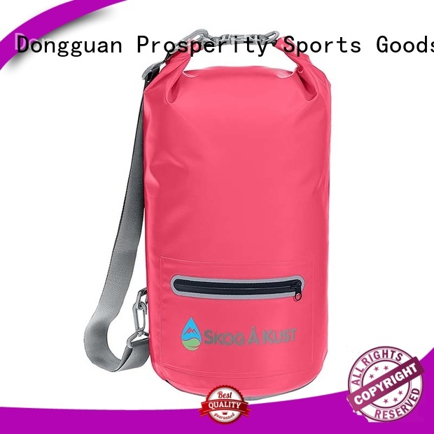 Outdoor waterproof dry bag with  shoulder strap