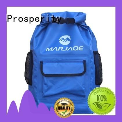sport dry pack bag with adjustable shoulder strap for rafting