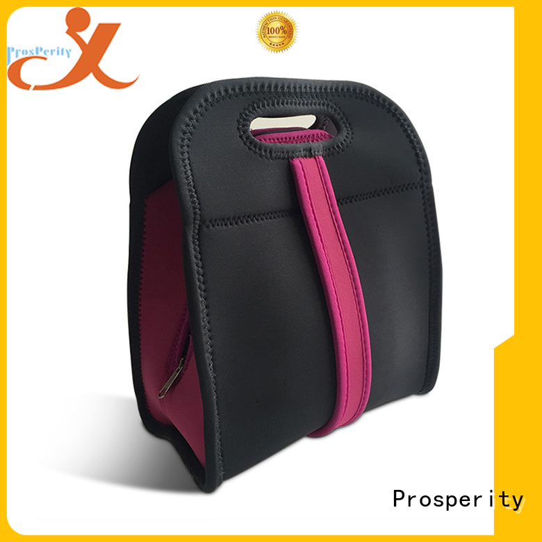 customized custom neoprene bags with accessories pocket for hiking