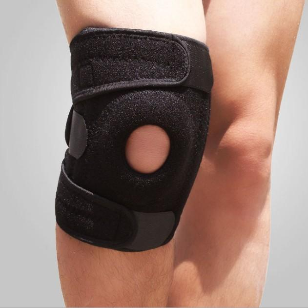 Wholesale sport neoprene adjustable knee support brace-3