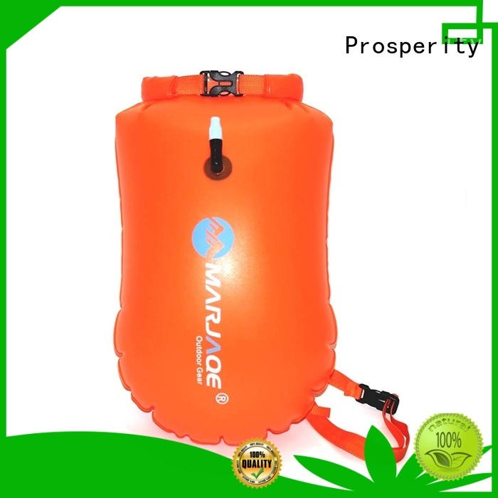 polyester dry bag sizes with innovative transparent window design for rafting